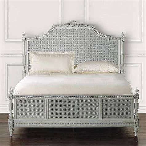 menara antique black carved wood bed