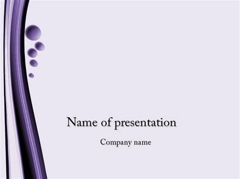 themes for ms powerpoint violet bubbles powerpoint template for impressive