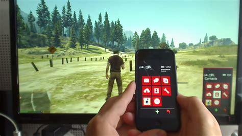 gta  virtual smartphone controlled   real