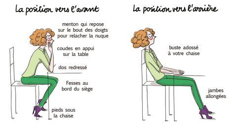 position de la chaise garder le dos droit au bureau le meilleur moyen d avoir mal madame figaro