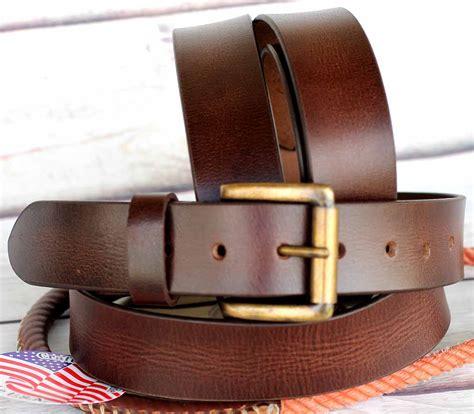 Grain Cowhide by L Unisex Grain Cowhide 100 Leather Casual Dress Belt
