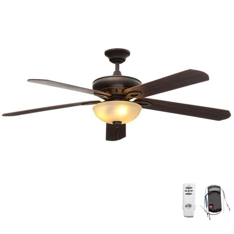 60 ceiling fans with light and remote hton bay asbury 60 in indoor oil rubbed bronze ceiling