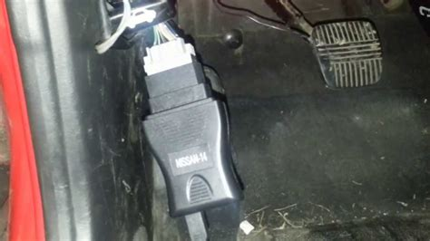 connect nissan consult cable part youtube