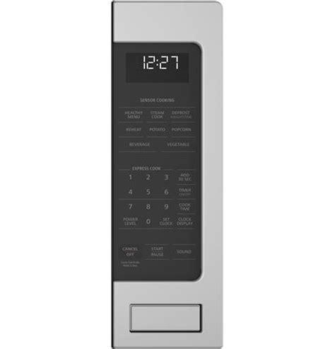 zesslss monogram  cu ft countertop microwave