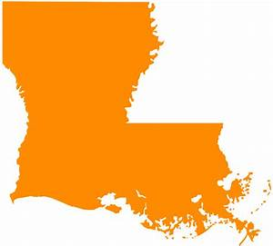 Louisiana Map Silhouette | Free vector silhouettes