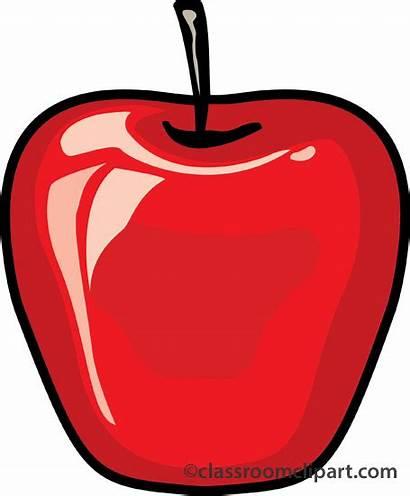 Apple Clipart Background Fruit Cartoon Transparent Clip