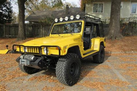 The Jeep Landrunner Is A Wrangler That Looks Like A Hummer