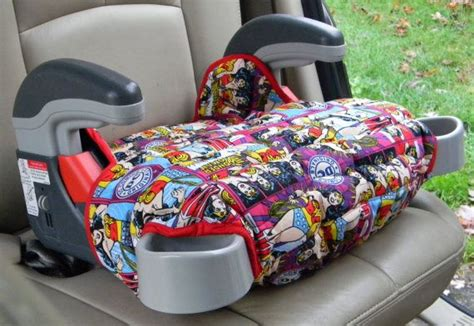 Booster Seat Cover Car Accessory In Wonder Woman By