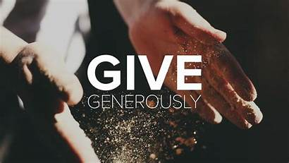 Give Generously Radical Giver Ccf Messages Gives