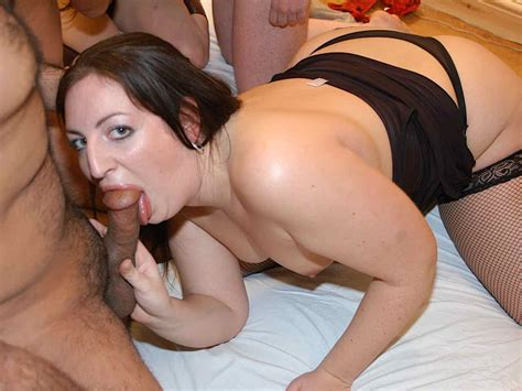Alana And Sophie Sucking Cock At Local Party
