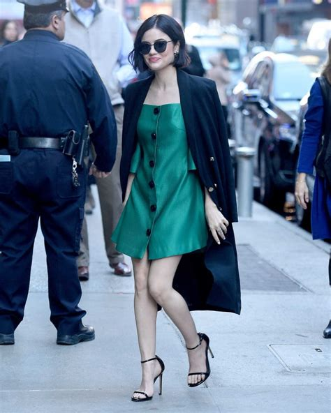 Lucy Hale Was Seen Out in New York – Celeb Donut