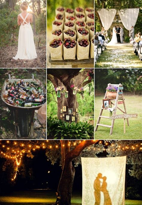 diy country rustic wedding ideas diy backyard wedding ideas 2014 wedding trends part 2