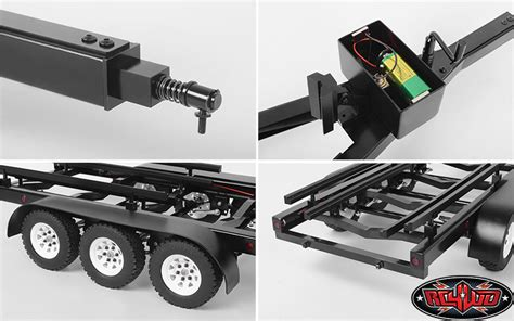 Rc Boat Trailer And Hitch by Rc4wd Bigdog 1 10 Axle Scale Boat Trailer Rc Car