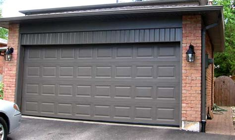 terra bronze garage door increase the value of your home by changing your colours