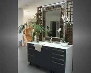 miroir salle de bain sur mesure leroy merlin salle de With miroir salle de bain sur mesure