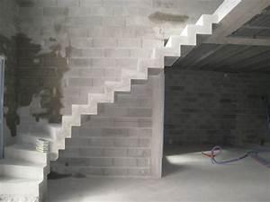Habiller Un Escalier En Béton Brut : d pose et repose d 39 un escalier b ton 16 messages ~ Nature-et-papiers.com Idées de Décoration