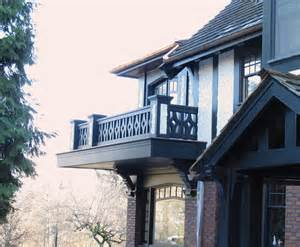 a frame style homes a tudor balcony unveiled