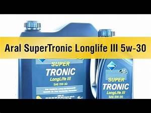 Aral Supertronic Longlife Iii 5w 30 : aral hightronic m sae 5w 40 ~ Jslefanu.com Haus und Dekorationen