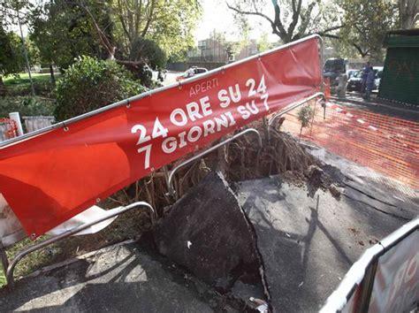 si鑒e auto carrefour albero di 25 metri cade davanti a un carrefour nessun ferito 4 auto danneggiate corriere it
