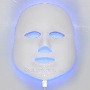 450 Nm Led Light Lux Mask Led Phototherapy Facial Mask 7 Colors Light