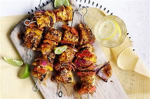 Spicy Indian chicken kebabs with curry marinade Tesco