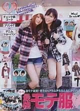 Japanese teen fashions japan