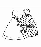 Coloring Dresses Pretty Printable Princess Sheets Dot Polka Bow Outfit Getcolorings Colors sketch template