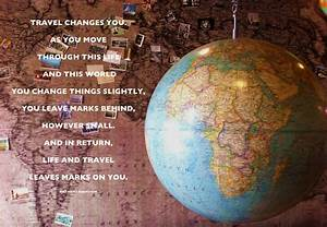 #Travel #quote ... World Globe Quotes