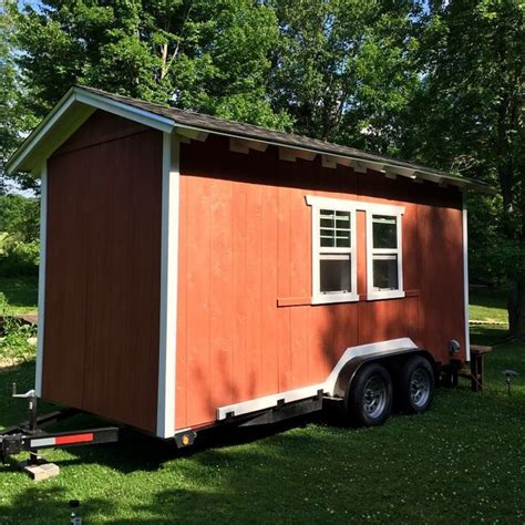 tiny house listing rustic tiny house on wheels tiny house for sale in