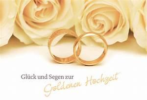 Glückwunschkarten Zur Goldenen Hochzeit : hochzeitskarte gl ck segen zur goldenen hochzeit 6 st ~ Frokenaadalensverden.com Haus und Dekorationen
