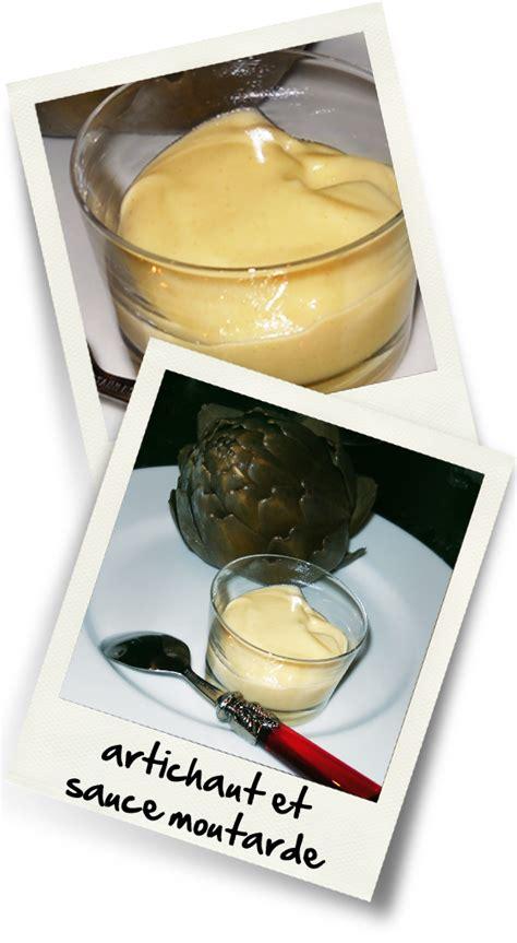 artichaut cuisine artichaut sauce moutarde christiane cuisine