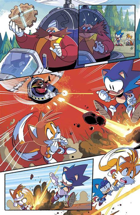 sonic  hedgehog   shot comic  reads