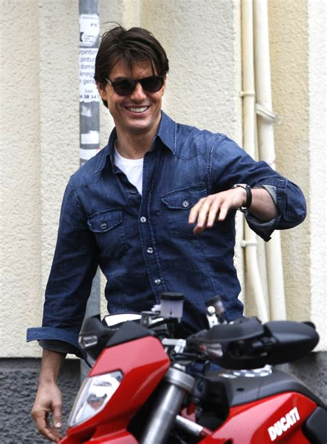 december  tom cruise hopped   motorcycle