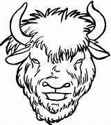 Buffalo Coloring Pages Clipart Head Drawing Clip Face Water Yak Herd Bison Cheetah Cute Clipartmag Animals Wildlife Baby Pencil sketch template