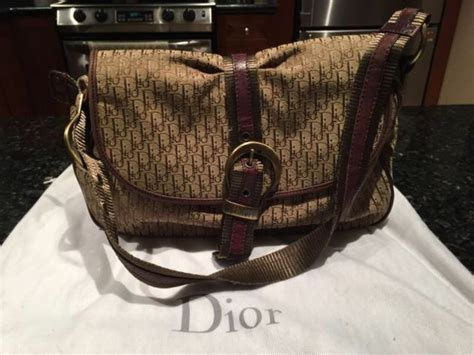 authentic christian dior diorissimo monogram bag ebay