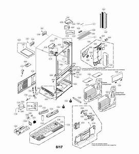 Lg French Door Refrigerator Parts Diagram