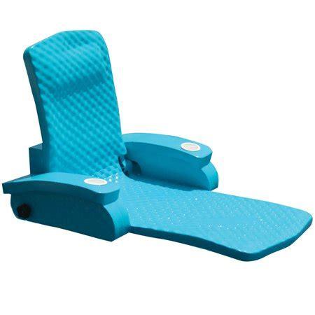 floating recliner foam lounge pool chair spring float