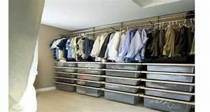 Comment Amenager Un Placard Soi Meme : faire un dressing pas cher soi m me facilement ~ Melissatoandfro.com Idées de Décoration