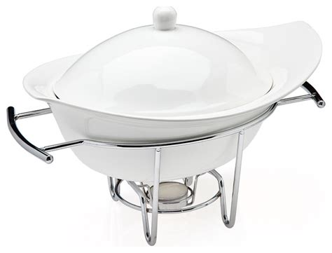 chafing dish warmer natura 1 qt warmer contemporary chafing dishes by 2074