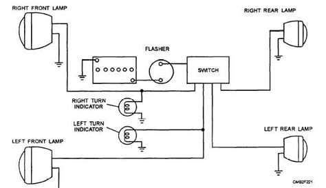 Wiring Diagram For Motorcycle Indicator by Indicator Wiring Diagram Motorcycle Wiring Diagram