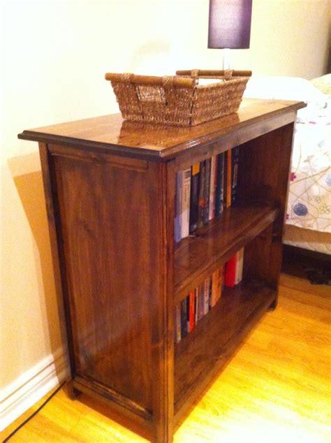 ana white custom kentwood bookshelf diy projects