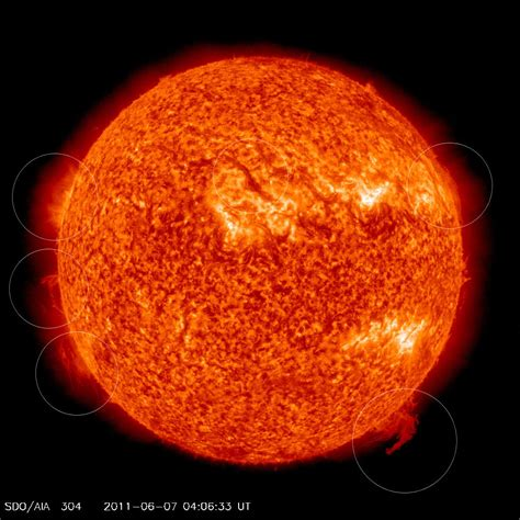 NASA captures image of this morning's massive solar flare ...