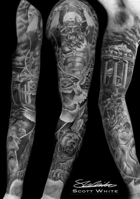 Scott White Tattoo Artist At Monumental Ink | tattoo | Tatouage, Tatouage horloge, Homme tatoué