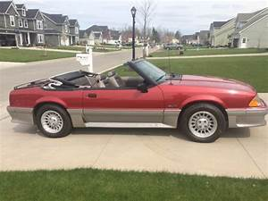 1990 Ford Mustang Gt 5 0 Convertible For Sale  Photos