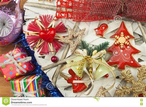 Christmas Time Decorations For The Presents Christmas