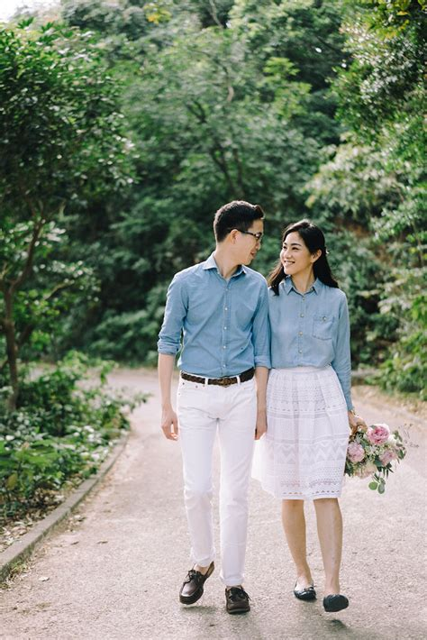 sophia kwan hong kong engagement prewedding outdoor garden