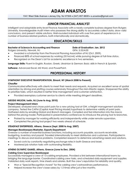 sle of resume for fresh graduate resume portfolio 171 personal resume branding writemycareer