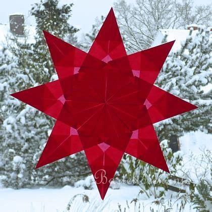 Fensterbilder Weihnachten Basteln Sterne by Basteln Mit Kindern Weihnachtsbasteln Gefaltete Sterne