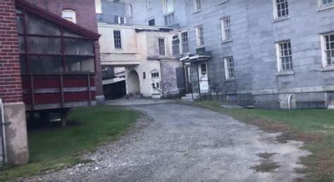 staggering    abandoned asylum hiding  maine