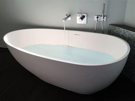 Badewanne Freistehend Mineralguss luino bath